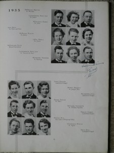 1935 Seniors page 6 - click image to enlarge